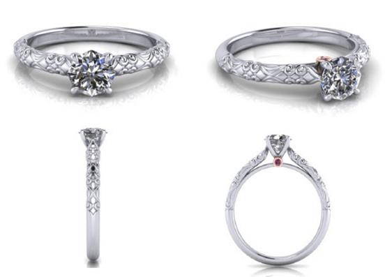 Customised Diamond Rings