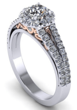 unique customised engagement ring designs