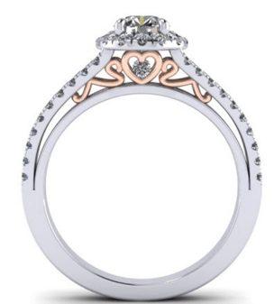 ucustomised diamond proposal ring designs