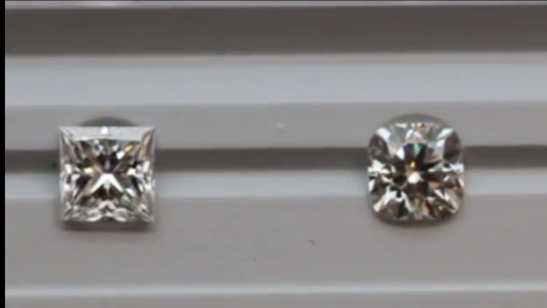 JannPaul: Comparing Princess Cut, Signature Cushion Brellia & Normal Cushion Cut Diamonds