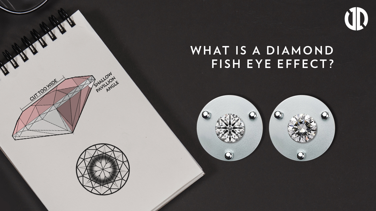 What is a Diamond Fish Eye Effect? | Engagement Ring Diamond Guide | Super Ideal Cut