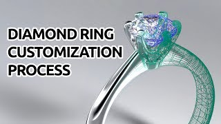 JP Diamond Ring Customization Process