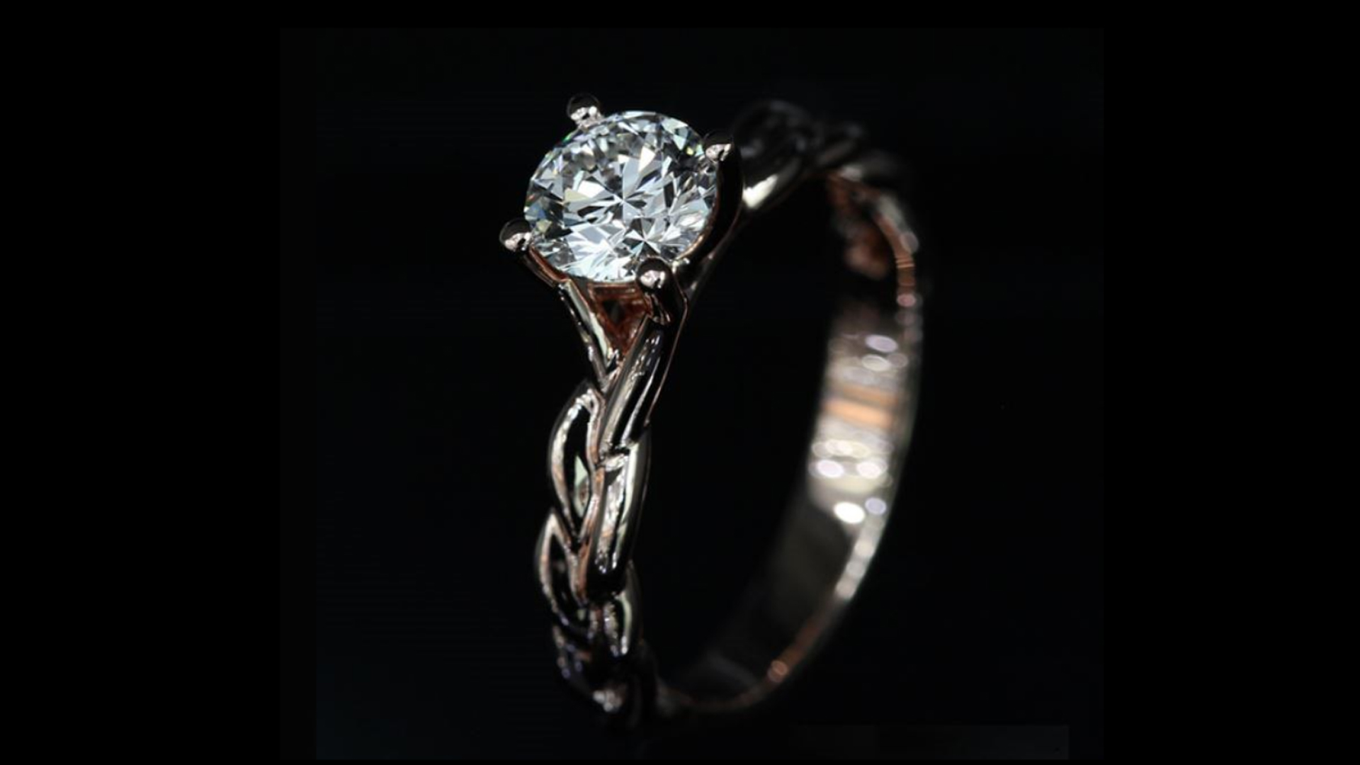 Unboxing Rose Gold Solitaire Diamond Ring – Super Ideal Cut